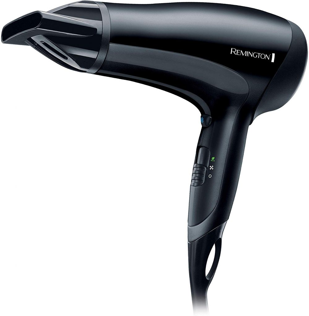 Image of the black Remington d3010 hairdryer