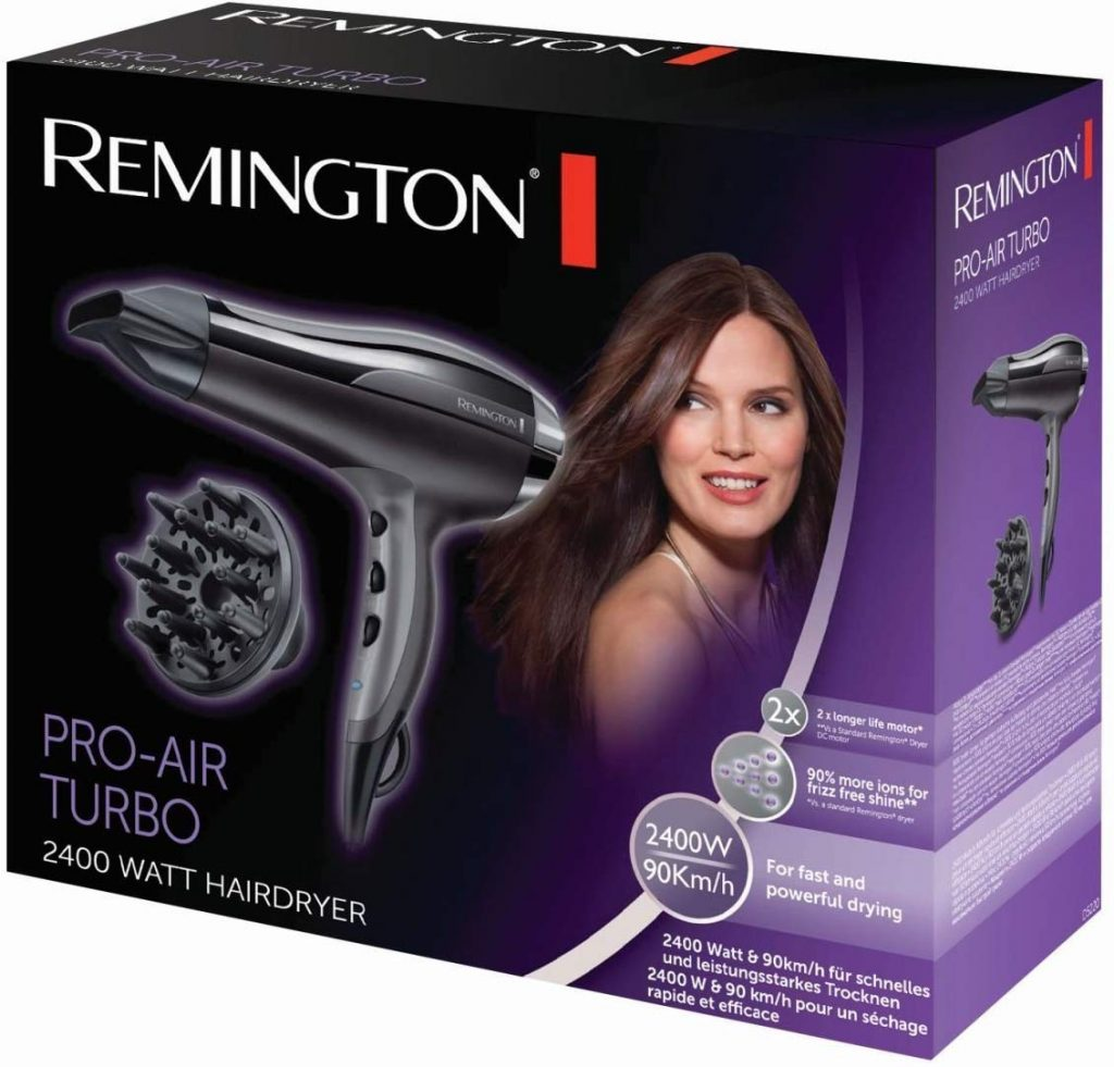 Image of the boxed Remington Pro Air D5220