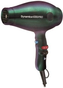 Image of the green Diva Dynamica 4000 Pro hairdryer