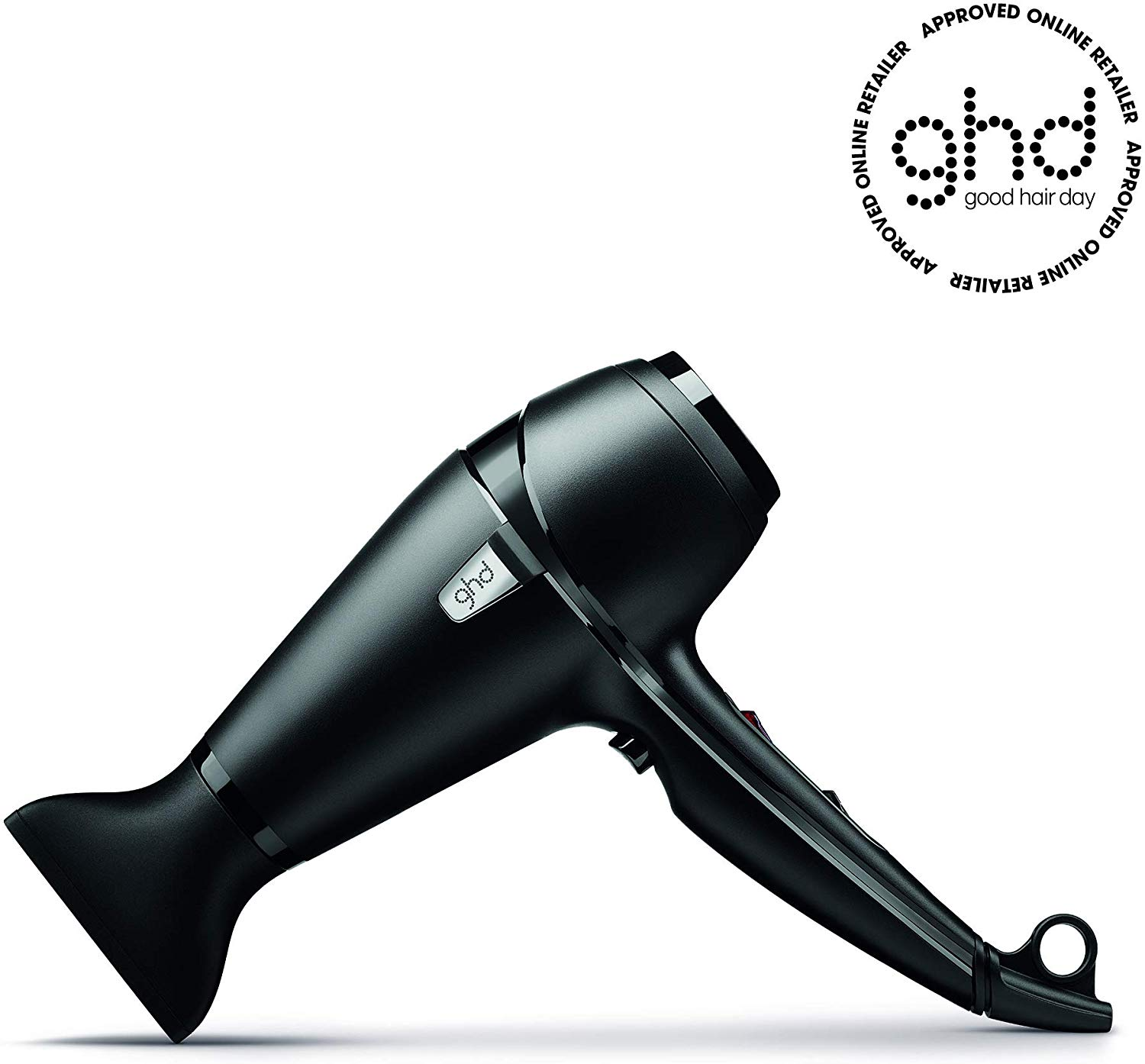 Image of the black GHD air hairdryer