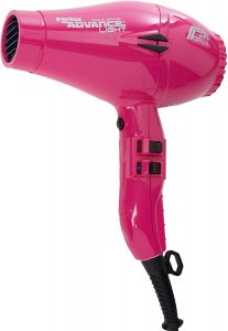 Image of the pink Parlux Advance Light hair dryer