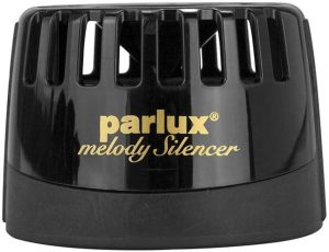 Image of the black noise reducing Parlux Melody Silencer